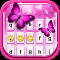 Pink Glitter Emoticon Keyboard APK for Bluestacks