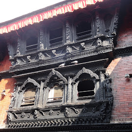 nepal art by Debananda Santra - Buildings & Architecture Other Exteriors