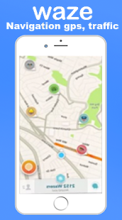 App GPS Waze Maps , Finder , Traffic , Alerts Guide APK for Windows Phone