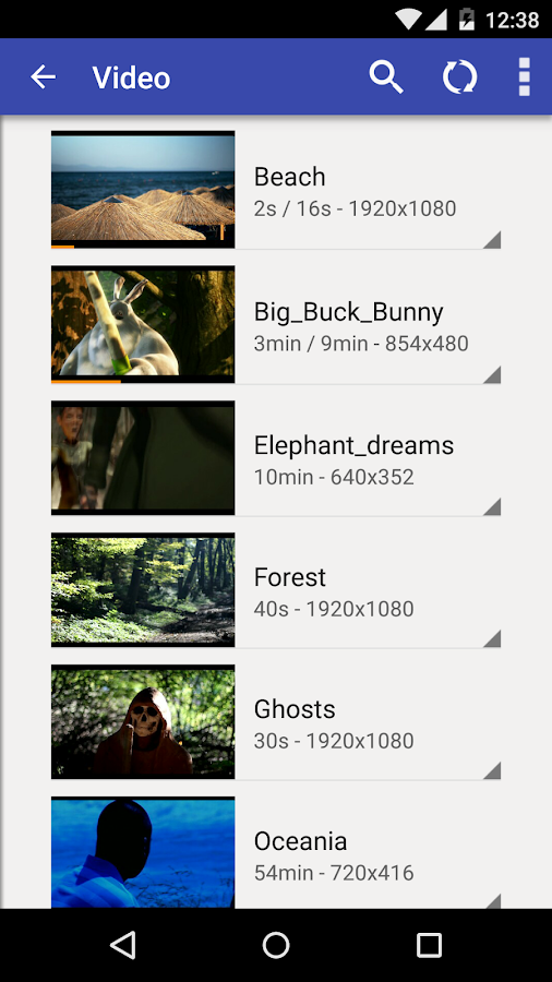 BitX Torrent Video Player Screenshot