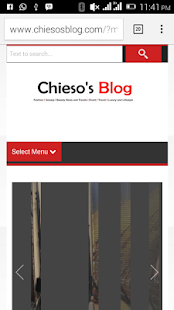 Chiesos Blog - screenshot