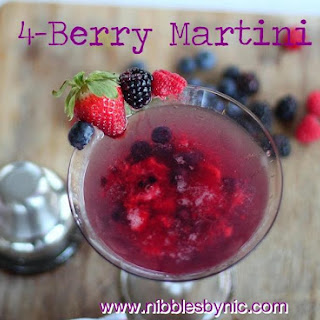 4-Berry Martini