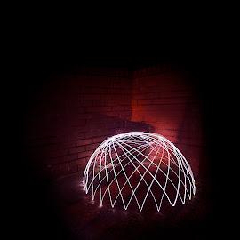 by Andrew Percival - Digital Art Abstract ( light painting, art, artistic, long exposure, nikon, photography, light art )