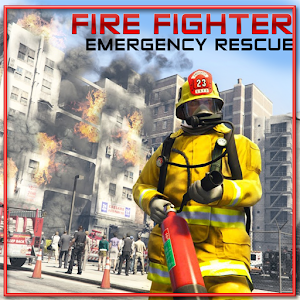 FireFighter Emergency Rescue Sandbox Simulator 911