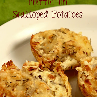Muffin Tin Scalloped Potatoes