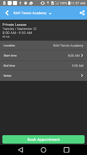 RAH Tennis Academy - screenshot