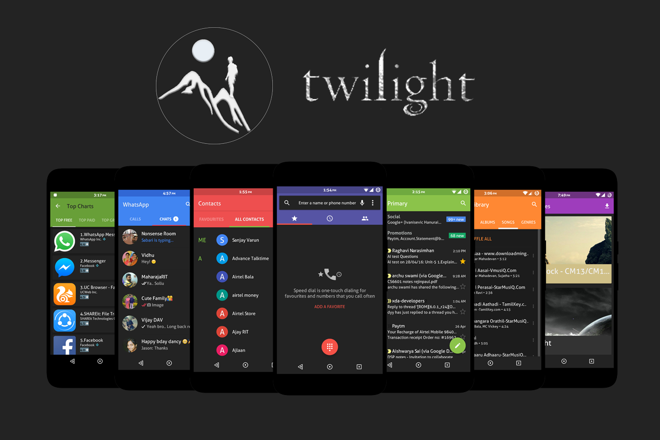 Twilight - CM13/CM12 Theme Screenshot 0