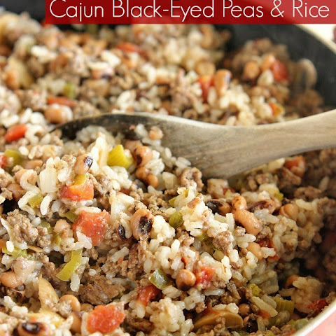One-Pot Cajun Black-Eyed Peas & Rice