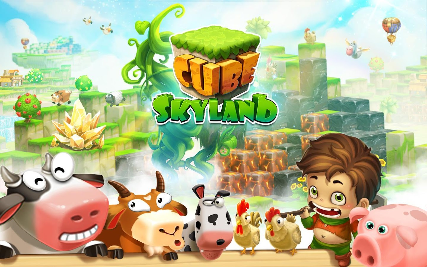 Cube Skyland: Farm Craft Screenshot 15