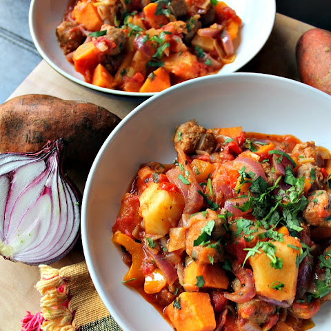 Sausage and Sweet Potato Dinner
