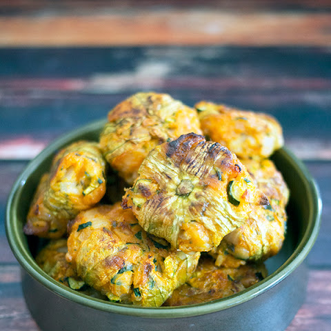 Zucchini Flower Fritters