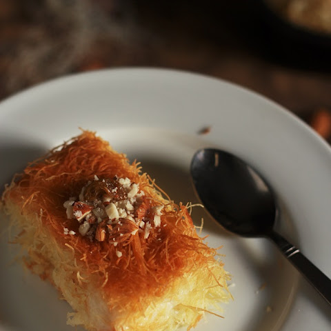 Kunafa Recipe-Knafeh Recipe with Kataifi