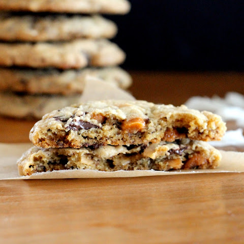 Caramel Coconut Chocolate Chunk Cookies