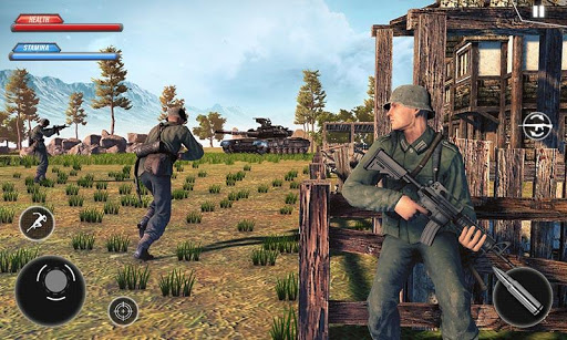 WW2 US Army Commando Survival Battlegrounds For PC