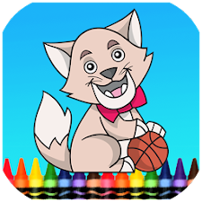 Cat & Dog Coloring Book Games