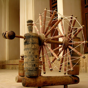 Old Spinning Machine by Hamed Ghalandar - Artistic Objects Other Objects ( iran, kahsan )