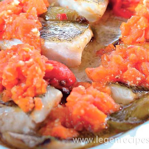 Pike Perch Fillet With Sweet Pepper