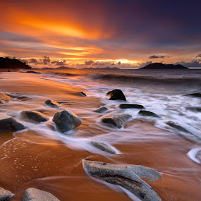 Fairest Sunset by Bobby Bong - Landscapes Waterscapes