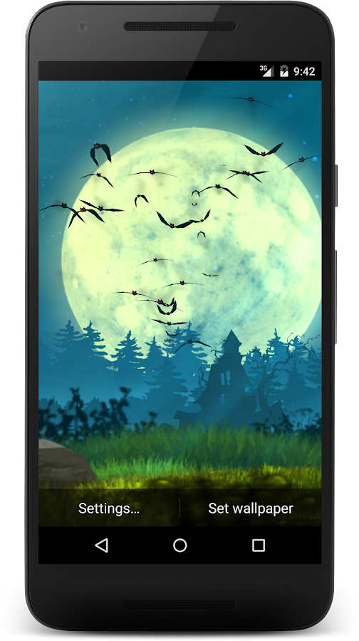 Bats live wallpaper Screenshot 10