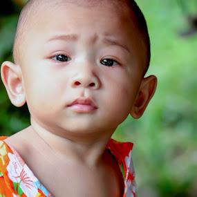 tears by Louie Racosas - Babies & Children Children Candids