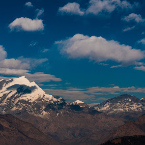 View point Tapla by Vorravut Thanareukchai - Landscapes Mountains & Hills ( shadow, cloud, viewpoint, light, nepal )