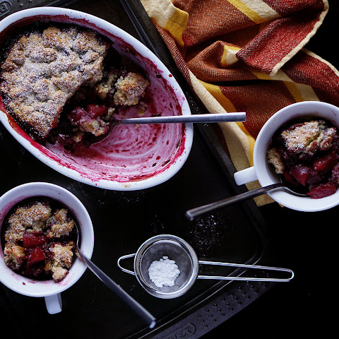 Fruit and berry Cobbler