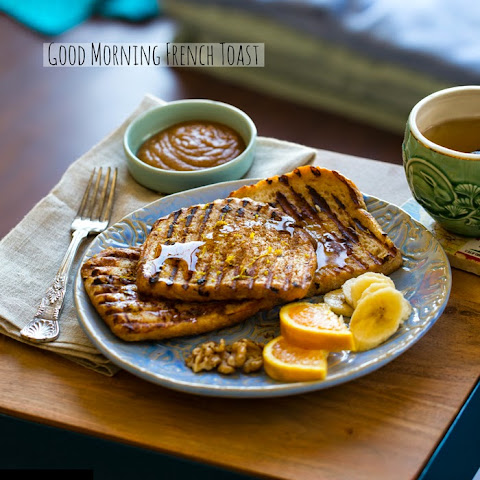 Cinnamon Orange Vanilla Grilled French Toast