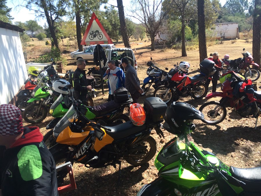 Klr tech day  by Kobus Kritzinger - Novices Only Sports ( klr kawasaki techday iphone5s )