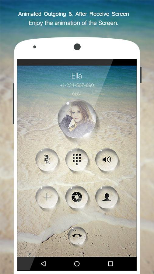 PIP Bubble Dialer Pro Screenshot 1