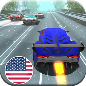 Cover art American Racer- USA Highway