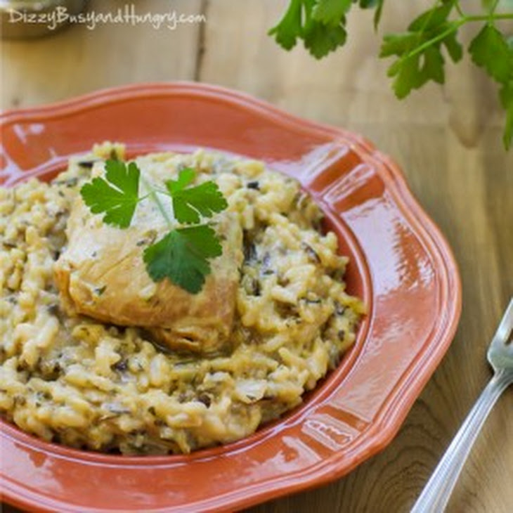 Easiest Slow Cooker Chicken and Wild Rice Recipe | Yummly