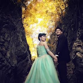 wedding by Arryawansyah Abidin - Wedding Bride & Groom ( leang leang )