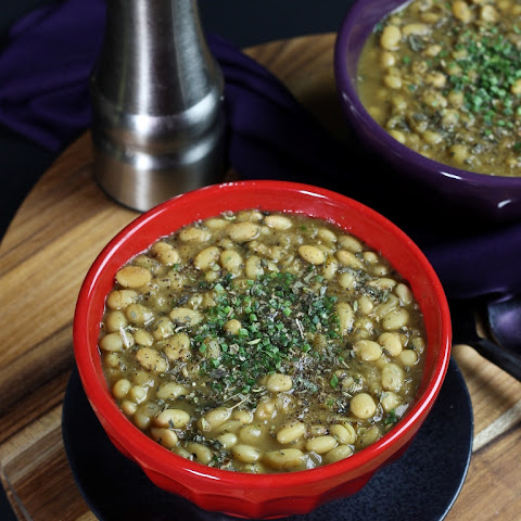 White Bean Chili (The Make Ahead Vegan Cookbook Giveaway!)