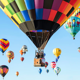 Hot Air Balloons by Chris Bartell - Transportation Other