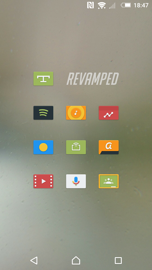 Tendere - Icon Pack Screenshot 2