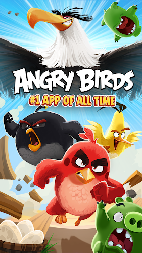 Angry Birds Android App Screenshot