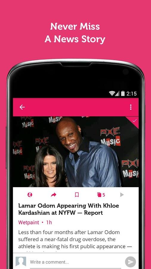 Celebrity News & Hot Gossip Screenshot 3