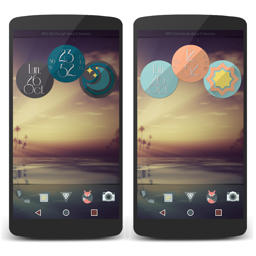 Retro Meteo Widgets by LP Screenshot 6