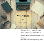 Thesis writing services in Coimbatore