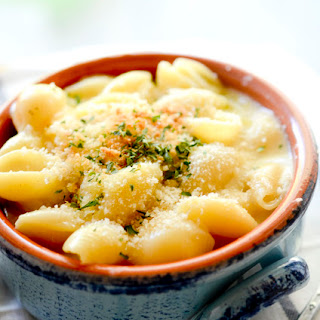 Skinny Creamy Mac and Cheese