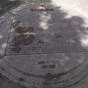 Krutch Park is the legacy of Charles Krutch, the last survivor of an eccentric and talented family. When they first arrived in Knoxville in the 1850's the proud German clan spelled their name Krütsch ...
