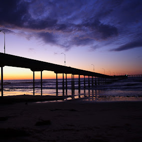 The Pier by David Benedict - Landscapes Waterscapes (  )