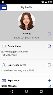 JobStreet APK for Blackberry