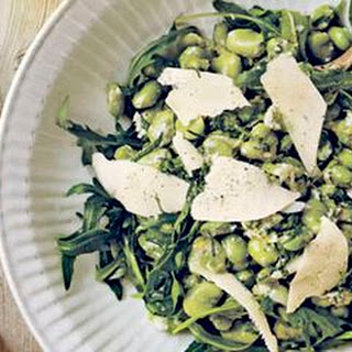 Fava Bean Salad with Pecorino