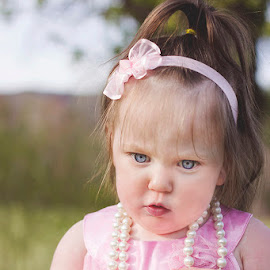 So Serious by Katie Shutter Bunny Meadows - Babies & Children Babies ( blue, dress up, blue eyes, baby, toddler, spring )