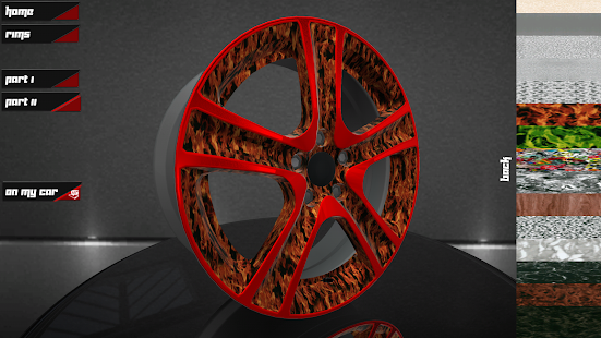 RC Design 4D Wheeleditor - screenshot