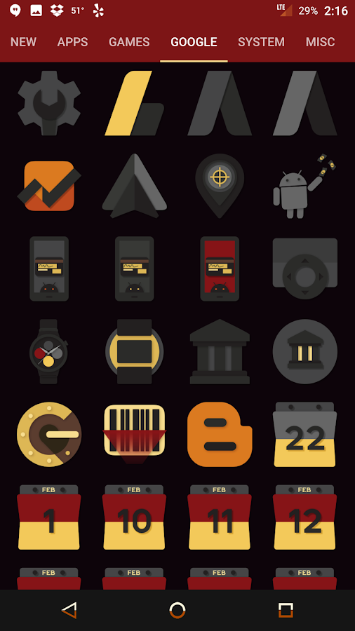 Desaturate Icon Pack Screenshot 8