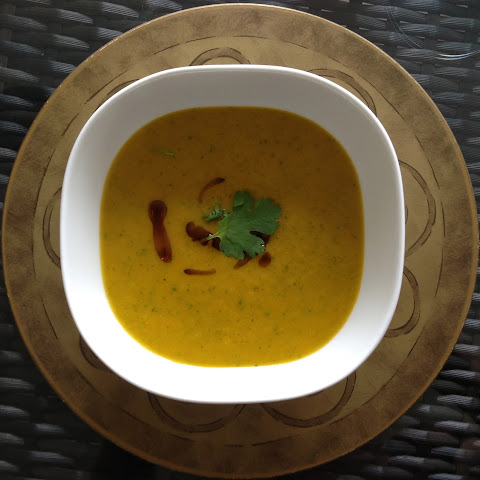 Michael's Carrot and Coriander Soup