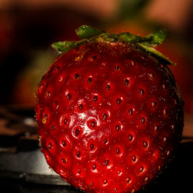 Strawberry by Vinay Mishra - Food & Drink Fruits & Vegetables ( product, fruit, straw, strawberries, garden, produce )