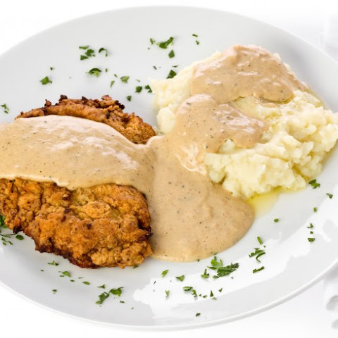 Oven Chicken Fried Steak